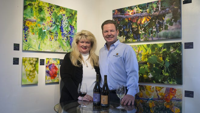 """We're not in it to make a quick buck to make wine for the masses,"" says Peggy Fiandaca, who, along with husband Curt Dunham, runs LDV Winery in Scottsdale."