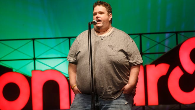 Ralphie May performs at the 2015 Bonnaroo Music and Arts Festival on Saturday, June 13, 2015, in Manchester, Tennessee.