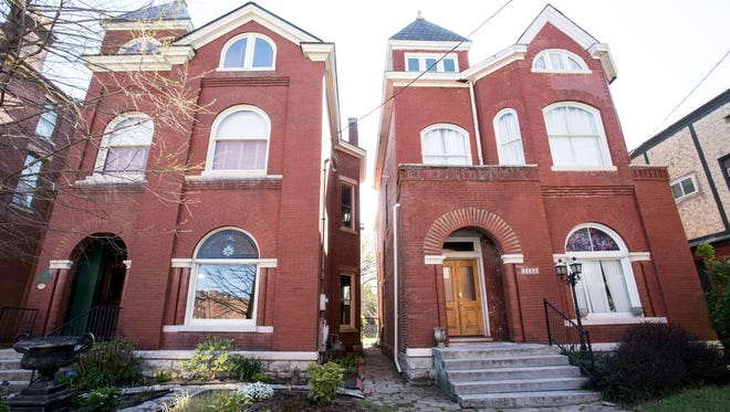 This Old Louisville property was an Airbnb home in 2016.