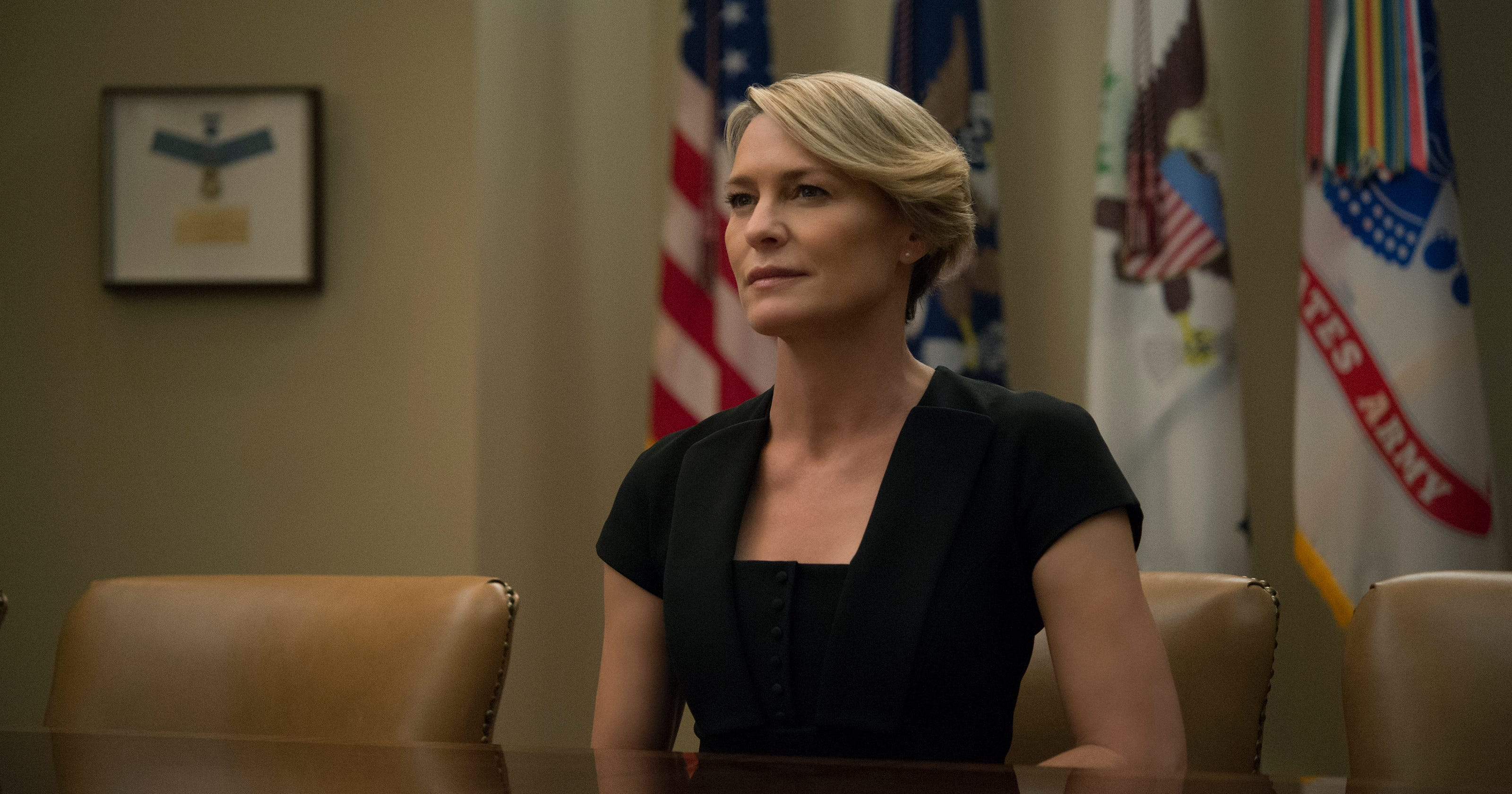 How Robin Wright Got Same Pay As House Of Cards Co Star Kevin Spacey
