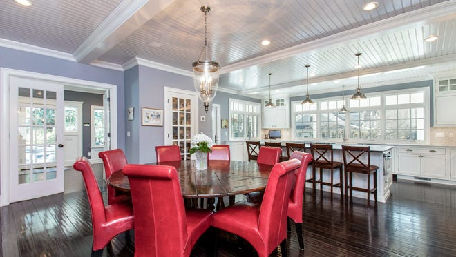 Entertain guests in the dining area