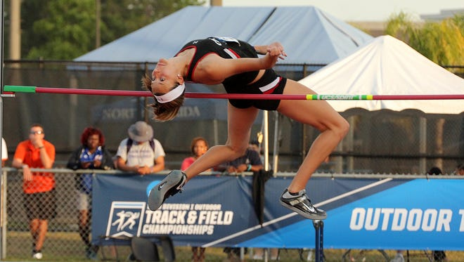 High jumper Loretta Blaut (Seton High School) is among UC's program-record six athletes headed to the NCAA track and field nationals this week.