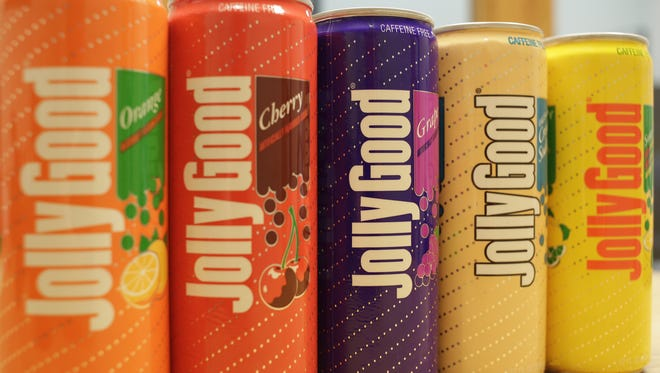 Krier Foods of Random Lake has brought back its Jolly Good soda brand and now offers orange, cherry, grape, cream and sour pow'r sodas.