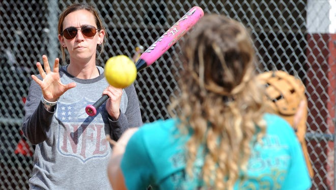 Jenny Johnson has coached Owen's softball team since 2011. She will also coach volleyball this upcoming school year.