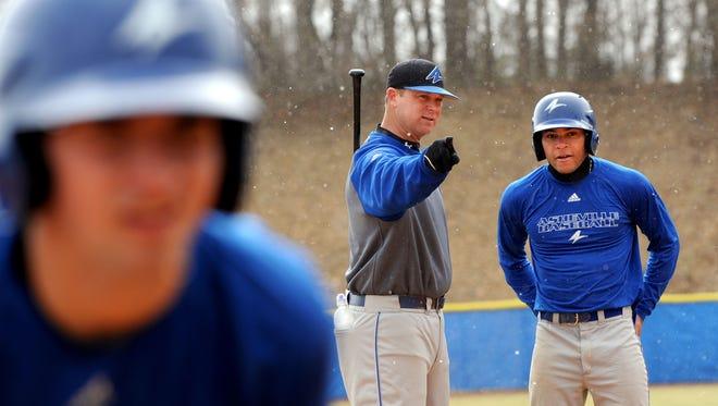 UNC Asheville baseball coach Scott Friedholm is offering private lessons at D-BAT Asheville.