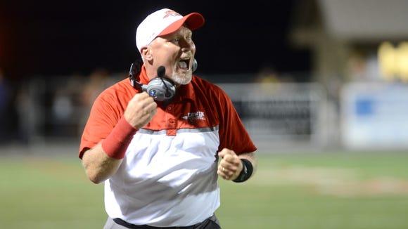 Erwin coach Mike Sexton.
