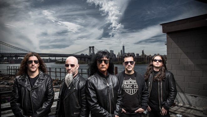 Anthrax performs Thursday at Club L.A. in Destin.