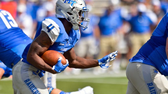 Middle Tennessee Blue Raiders running back I'Tavius