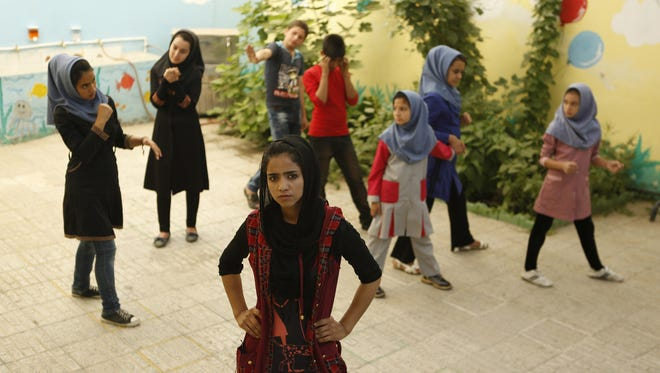 """The documentary """"Sonita"""" chronicles the life, music and challenges of Afghan rapper and activist Sonita Alizadeh as she tries to establish herself in Iran."""