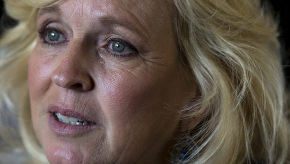 LeAnn Hull talks about her son, Andy, who left school