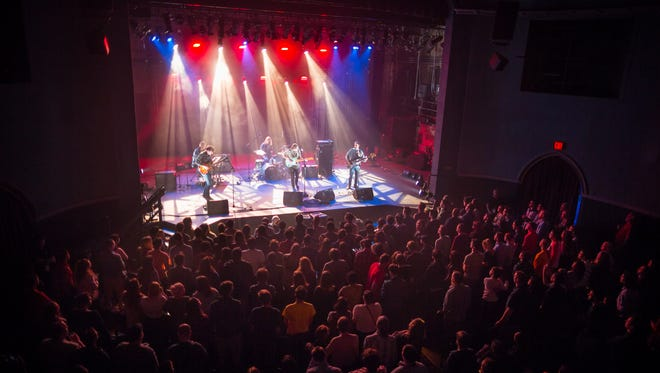 Real Estate performs at the Englert Theatre Thursday, April 2, 2015. Bill Adams/Mission Creek Festival