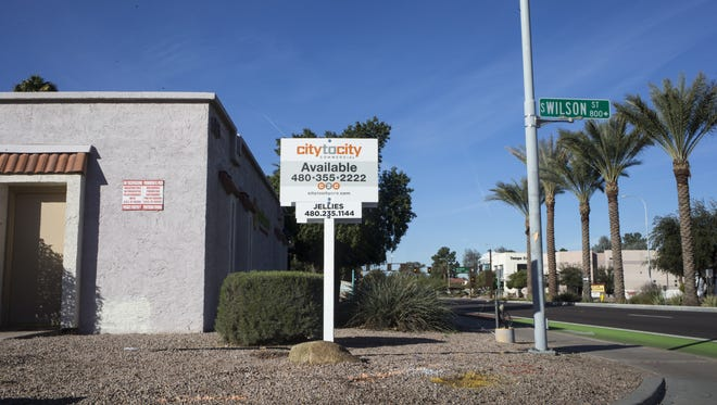 The vacant Tumbleweed building, January 4, 2017, at 505 W. University Drive, Tempe.