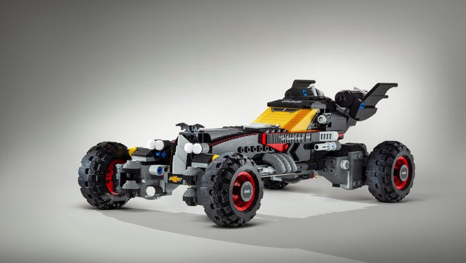 A life-size LEGO Batmobile will be on display at the 2017 North American International Auto Show.