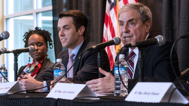 U.S. Congressman John Yarmuth spoke to a packed house at the Louisville Central Community Center on Sunday about the repeal of the Affordable Care Act. 1/15/17