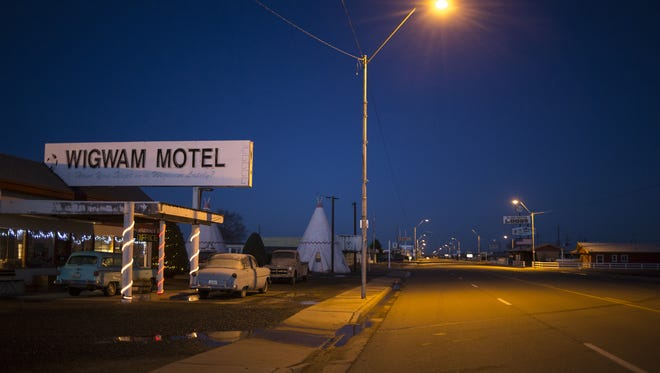The Wigwam Motel in Holbrook attracts travelers looking to experience the nostalgia of Historic Route 66. It opened in 1950.
