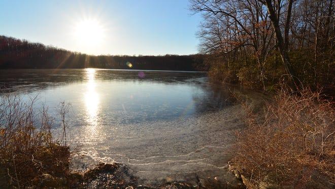 One of the views from around Wonder Lake.
