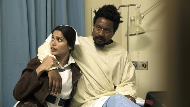 "Freida Pinto and Nathaniel Martello-White star in Showtime's ""Guerrilla,"" created by Mequon native and Oscar-winning screenwriter John Ridley."