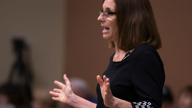 U.S. Rep. Martha McSally's support for Rep. Paul Ryan's health-care bill has made her a target for a group hoping to gain more support for Democrats in districts that voted for Hillary Clinton in the November election.