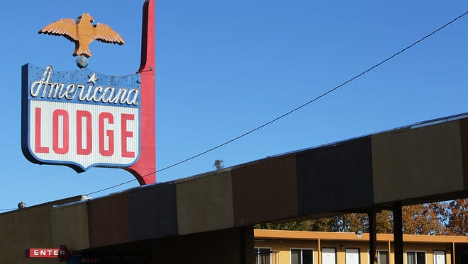 The Americana Lodge closed after it went into receivership.