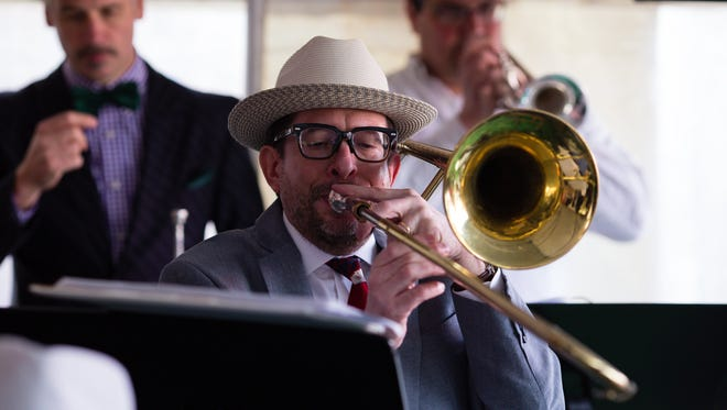 Live jazz is part of the festivities at the annual Maxie's Kentucky Derby party, which benefits hunger relief. Maxie's is at 6732 W. Fairview Ave.