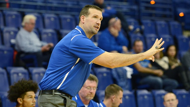 West Henderson boys basketball coach Joey Bryson and the Falcons will host a camp in June.