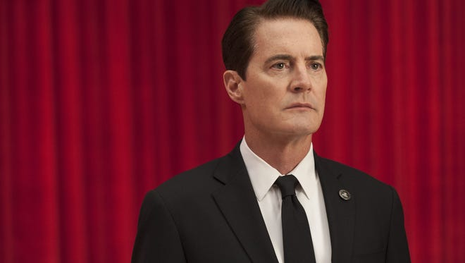"""FBI Agent Dale Cooper (Kyle MacLachlan) returns to a seemingly out-of-this-world town in David Lynch's latest """"Twin Peaks."""""""