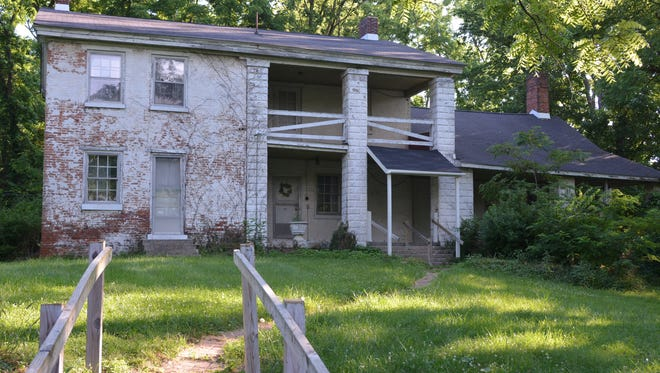 The back of the home owned by the Brennan family for more than 100 years. It is located at 2724 E. 136th St.