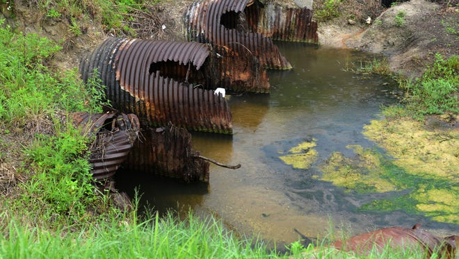 Palm Bay officials raised stormwater fees to better maintain the city's drainage network of roughly 12,000 aging pipes and culverts,