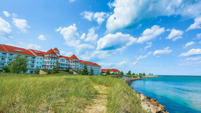 Blue Harbor Resort and Conference Center sits on Lake Michigan in Sheboygan.