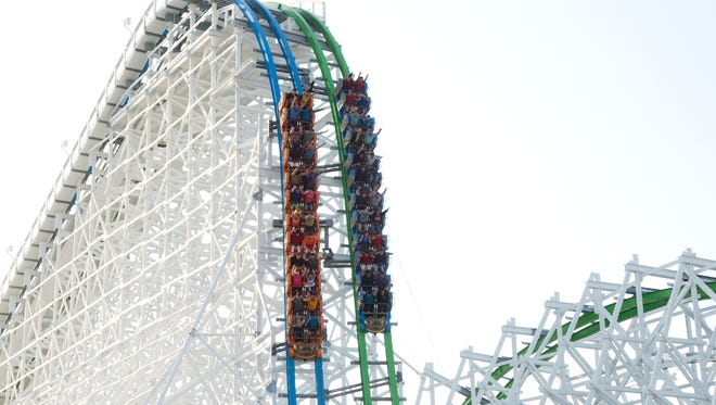 The hybrid wooden-steel coasters they have created, such as Twisted Colossus at Six Flags Magic Mountain in Calif., have been remarkably smooth.