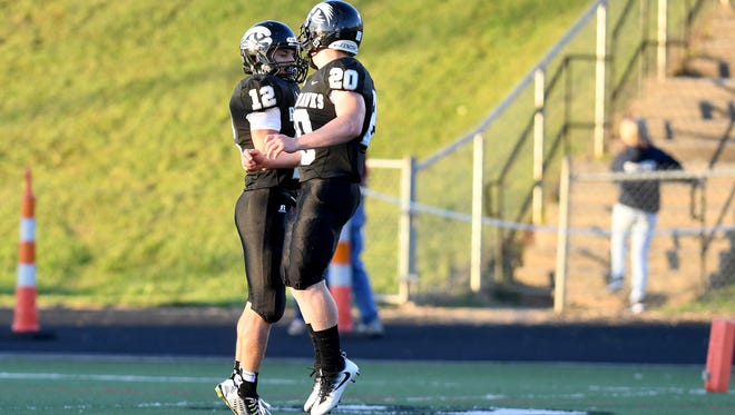 North Buncombe broke its 21-game losing streak last Friday with a 48-14 win over North Henderson.