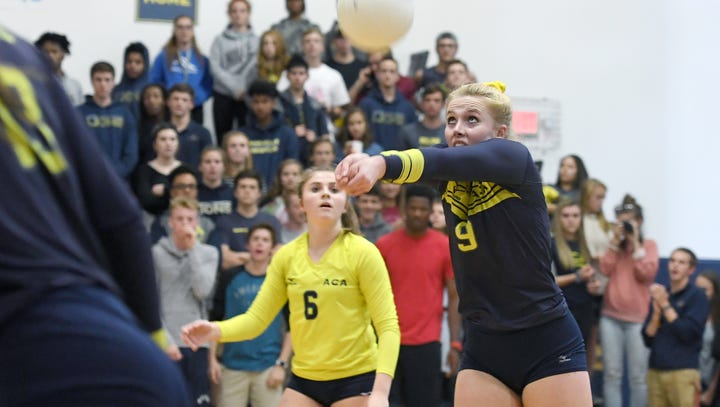 Tuesday's WNC volleyball matches
