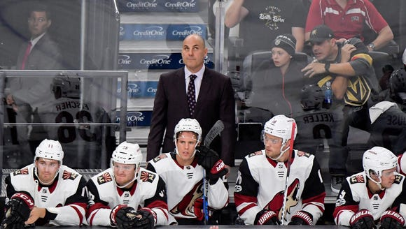 Rick Tocchet's team comes to town without a win in