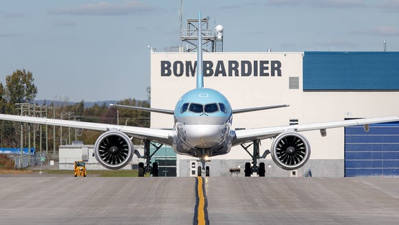 Korean Air took delivery of its first Bombardier C