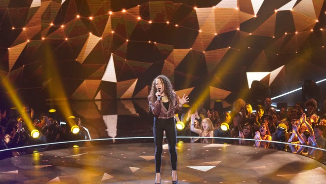 """THE FOUR: BATTLE FOR STARDOM: Challenger Cheyenne Elliott in the """"Week Two""""  episode of FOX's all-new singing competition series."""