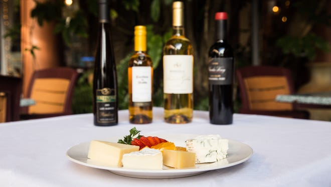 Starting Feb. 7, Cafe Margaux plans to offer monthly wine and cheese pairings.