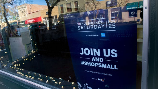 Small Business Saturday is Nov. 24, 2018.