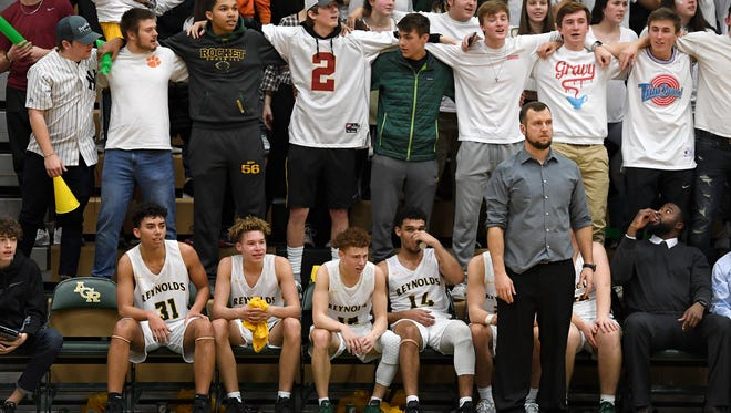 Reynolds defeated Erwin in the first round of the WMAC tournament to move into a Wednesday semi-final game against the winner of Tuscola and Asheville.