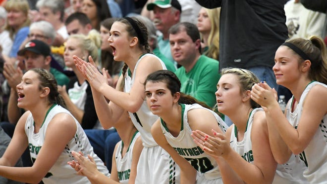 Mountain Heritage defeated Wilkes Central 61-44 in the fourth round of the NCHSAA 2A playoffs at Mountain Heritage High School on Tuesday, Feb. 27, 2018.