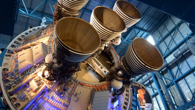Four hundred guests enjoyed the sights and sounds of the Apollo 11 Anniversary Gala, hosted in July 2017 at the Saturn V Center at Kennedy Space Center.
