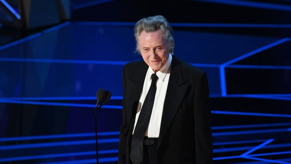 Christopher Walken didn't show it on live TV, but he