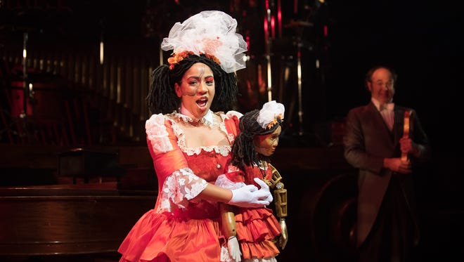 "Cecilia Davis sings in Skylight Music Theatre's ""The Tales of Hoffmann"" at the Broadway Theatre Center."