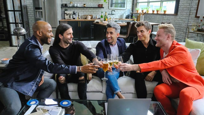 """The """"Queer Eye"""" reboot will be back for a second season of helping guys live their best lives."""