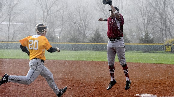 Tuscola hosted Asheville at the Tuscola High School baseball field in Waynesville on Friday, March 30, 2018. The Cougars defeated the Mountaineers 7-5.