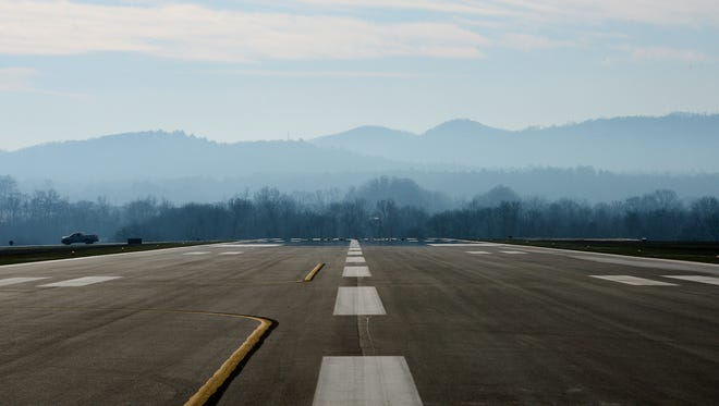 Asheville Regional Airport's runway construction program is running about a year behind schedule, but it should finish up this year.