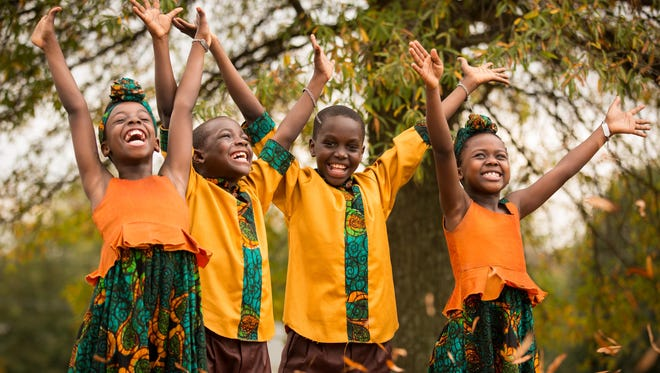 The African Children's Choir will perform May 27 during worship services at Aldersgate UMC.