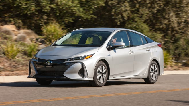The Toyota Prius is just one of a half-dozen hybrids return 45 mpg or more while offering impressive space, cutting-edge tech and more conventional shapes.
