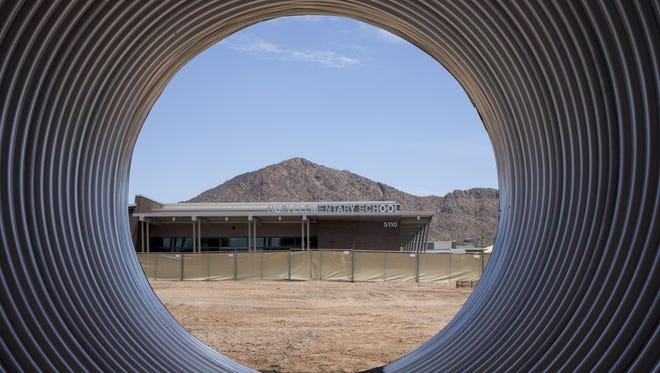 Hopi Elementary School, July 30, 2018, 5110 E Lafayette Blvd., Phoenix.