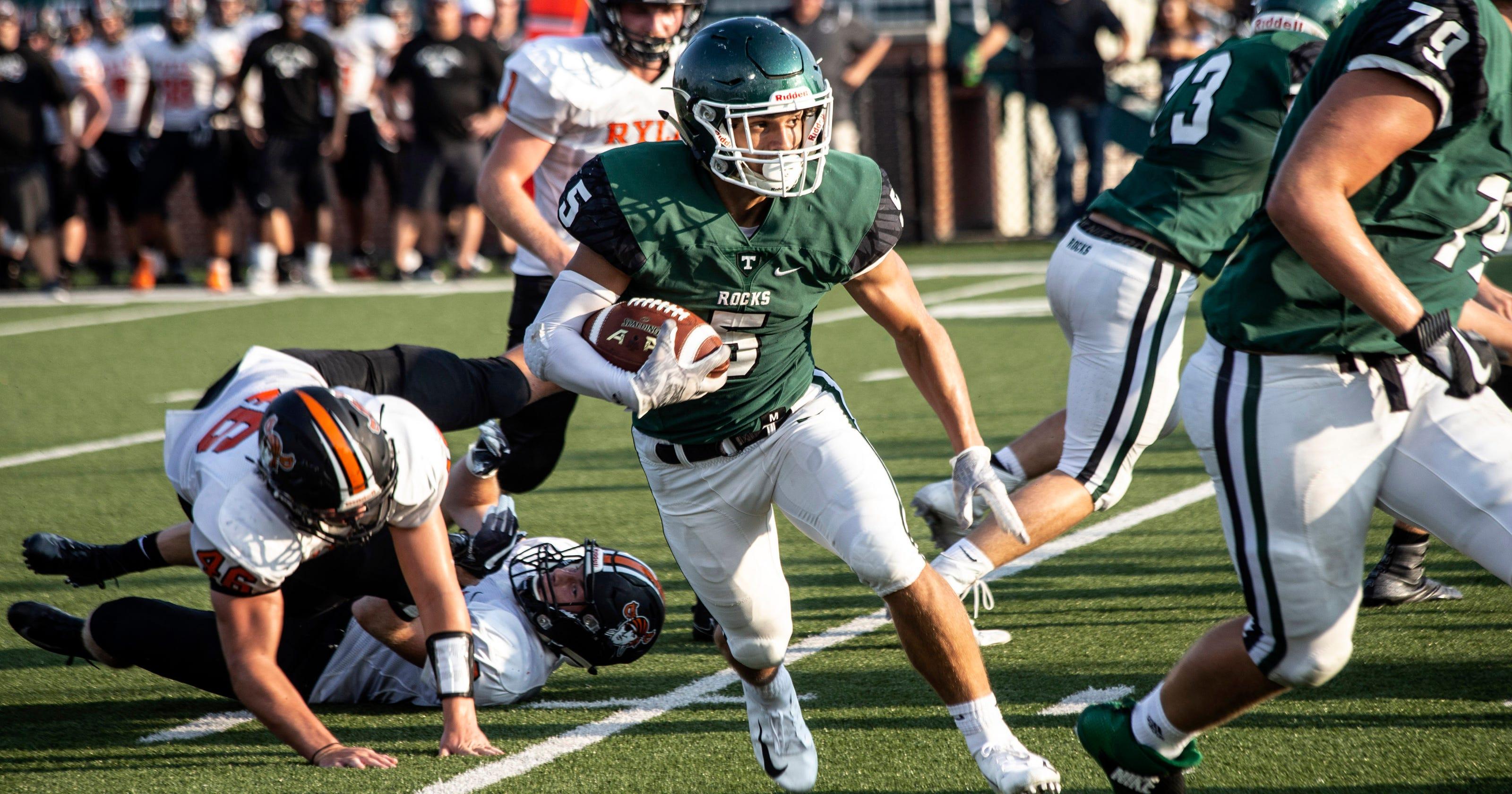 high school football roundup: trinity defeats henderson county