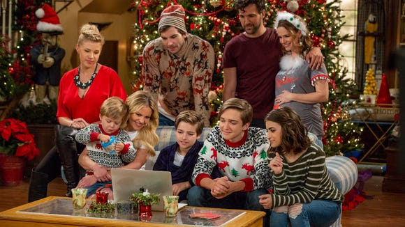 "Watch four seasons of ""Fuller House"" on Netflix."